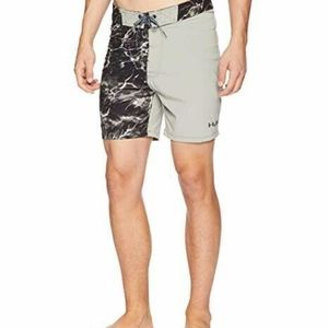 Huk Mens Elements Fishing Board Shorts Swimming